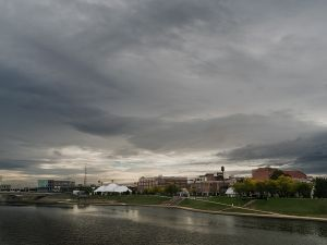 RiverScape Park from the North Main Street Bridge